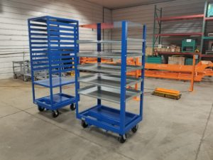 Static 4 Whl Griddle Cart Ref CT288