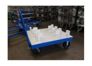 Custom 4 whl Static Cart Ref CT293