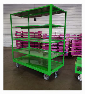 4 Whl Shelf Cart Ref CT295