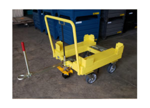 Static 4 Whl Static Cart w Corner Guides Ref CT299