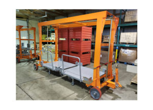 Mother Cart w Multiple Static Daughter Carts Ref CT305