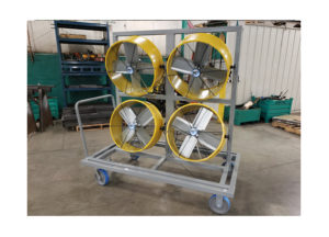 Four Wheel Fan Cart Ref CT306